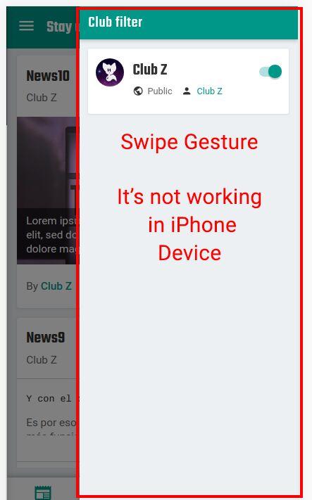 Swipe description