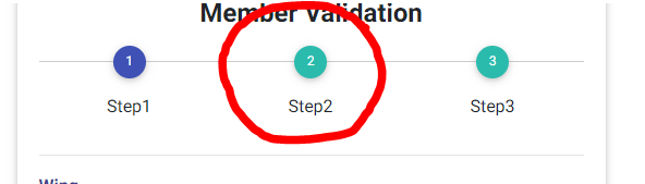 Disable Step Icon Click in Stepper Component - Material Design for